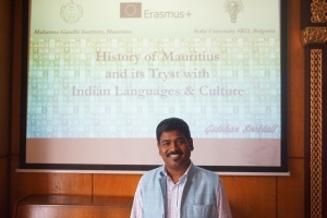 Guest-lectors from Mauritius (05.06.2018)