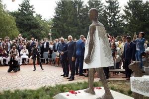 Откриване на паметник на Махатма Ганди (06.09.2018)