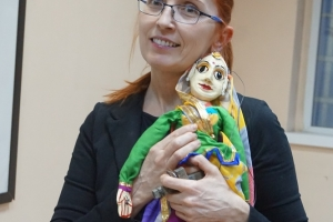 The puppet theater in Rajasthan - a presentation by Dr. Damianova (06.09.2017)