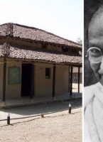 Mahatma Gandhi's Ashram at Wardha, India (06.11.2019)